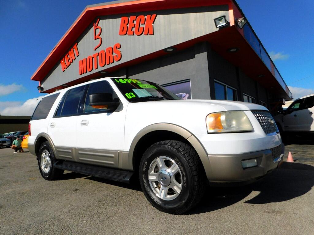 2003 Ford Expedition Eddie Bauer 5.4L 2WD