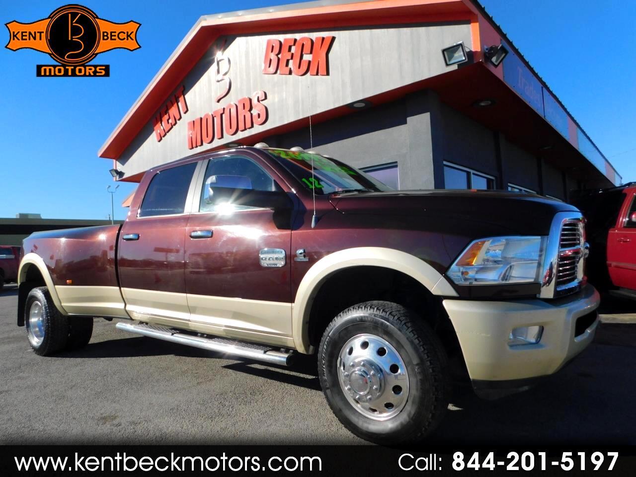 2012 RAM 3500 Laramie Longhorn Edition Crew Cab LWB 4WD DRW