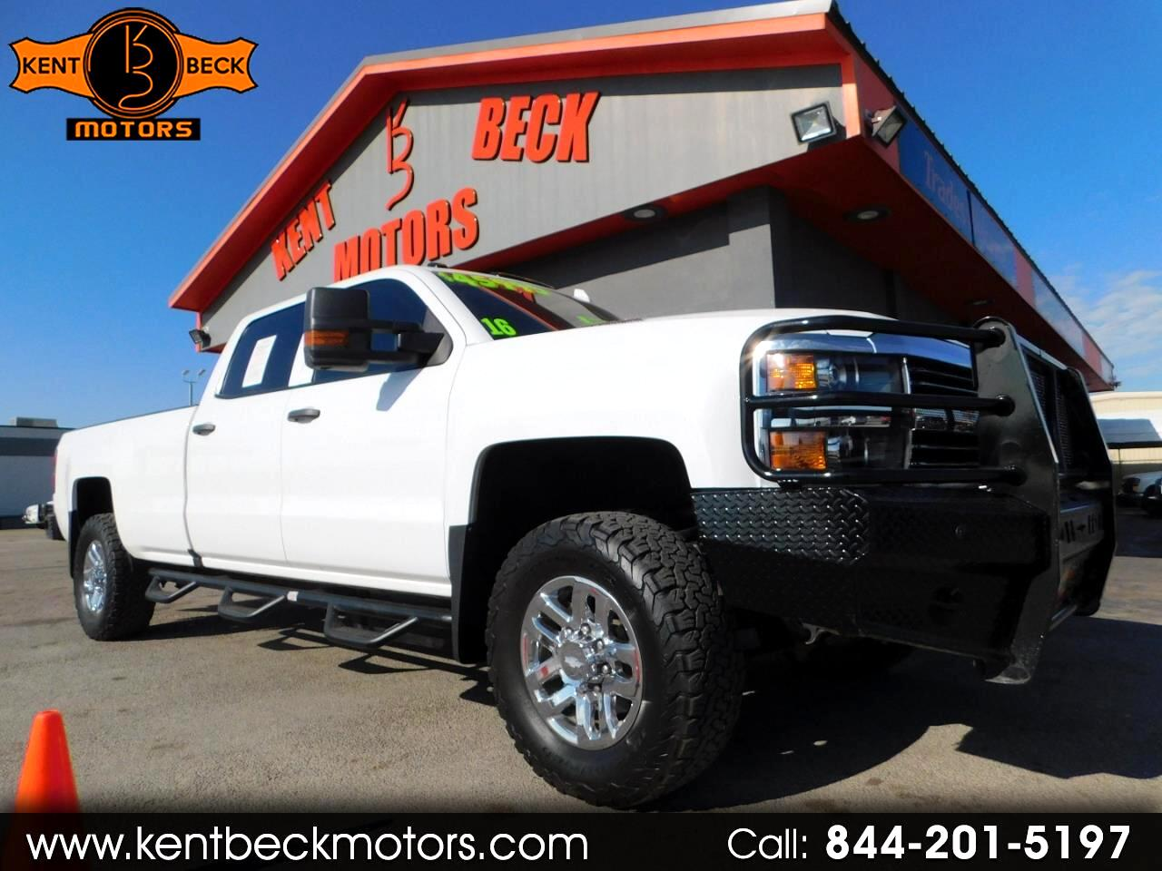 2016 Chevrolet Silverado 3500HD High Country Crew Cab Long Box 4WD