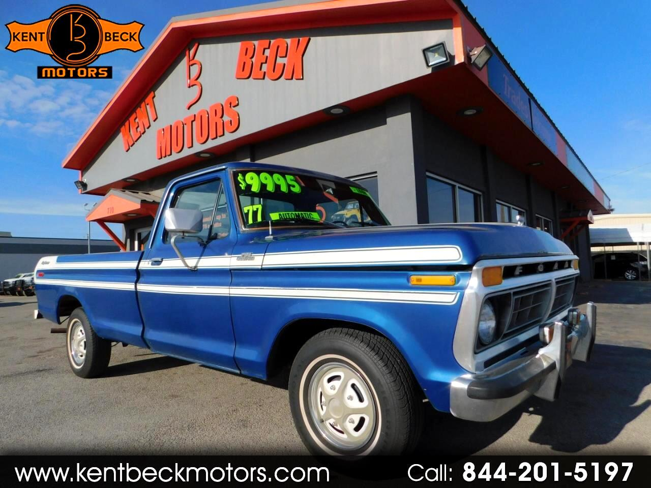 1977 Ford F-150 Custom Reg. Cab Long Bed 2WD