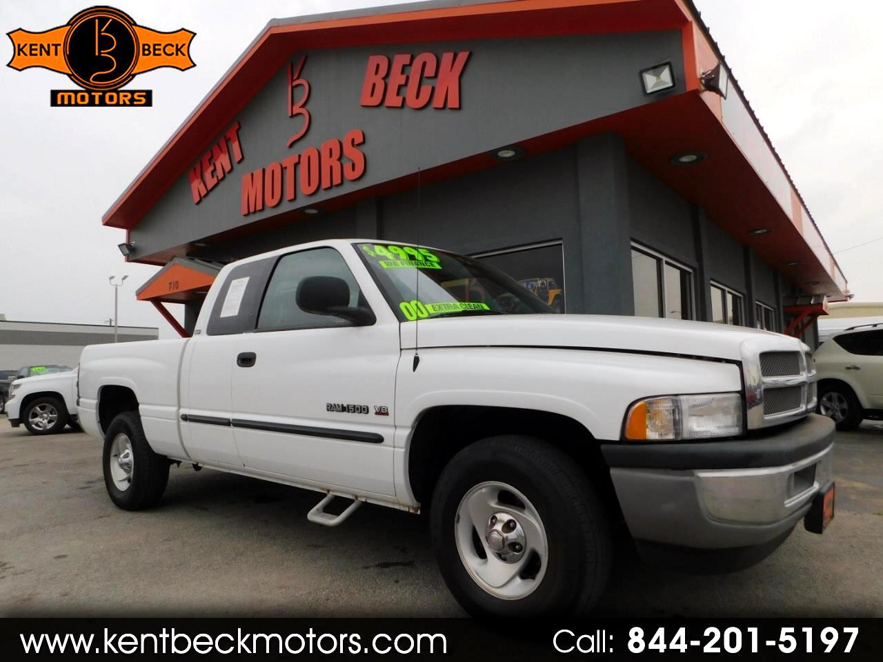 2000 Dodge Ram 1500 Quad Cab Short Bed 2WD