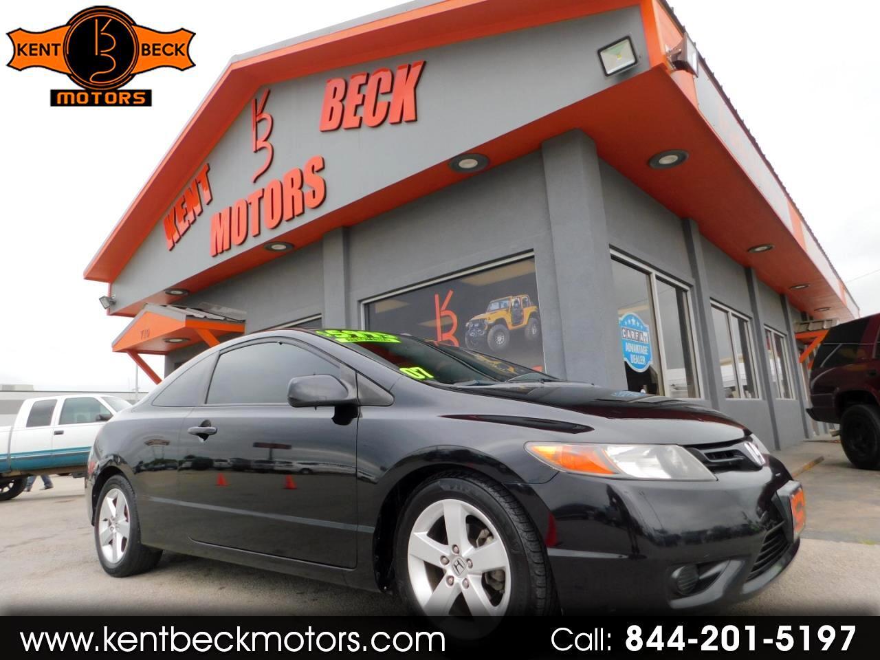 2007 Honda Civic EX Coupe AT
