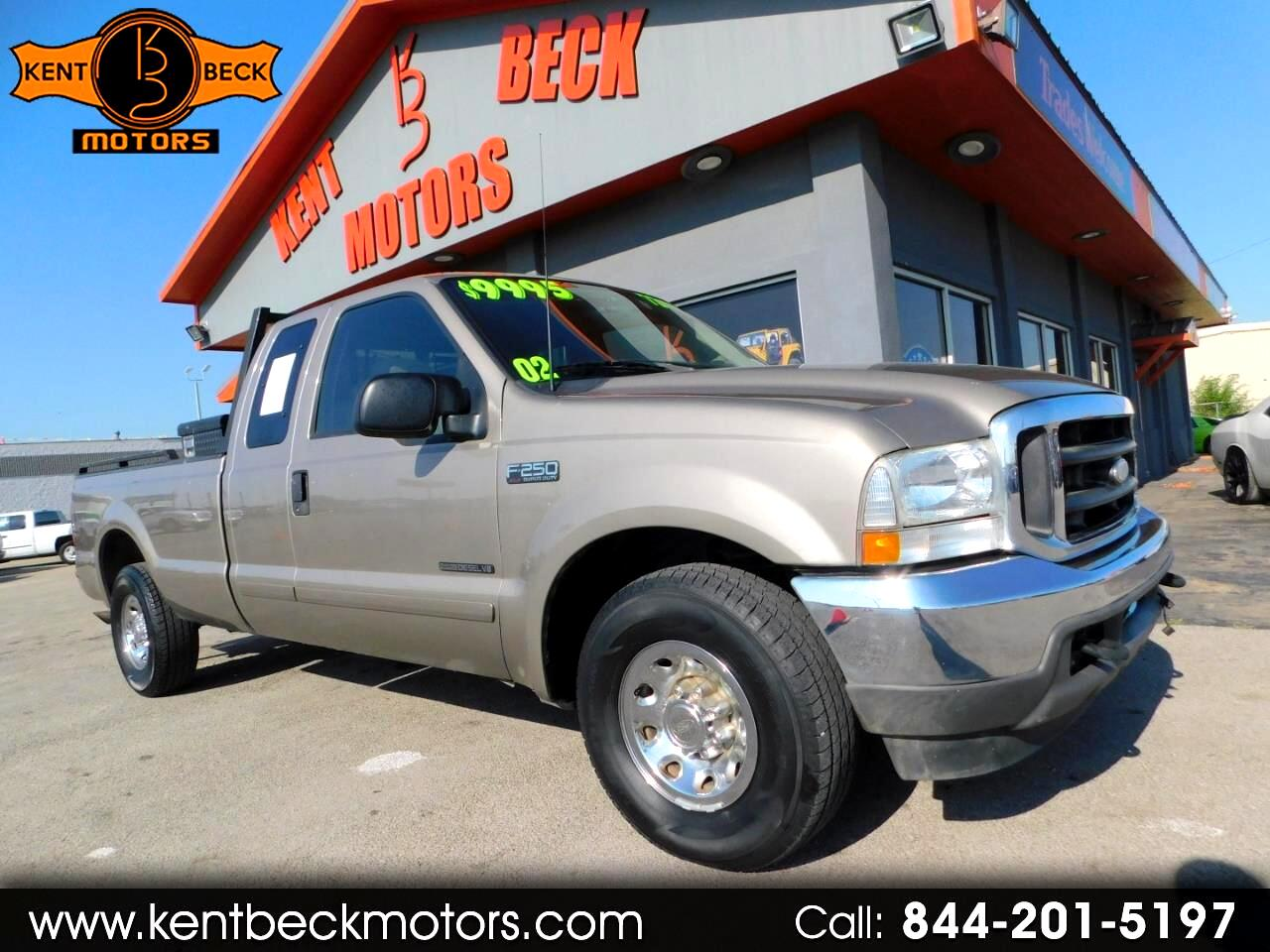 2002 Ford F-250 SD XL SuperCab Long Bed 2WD