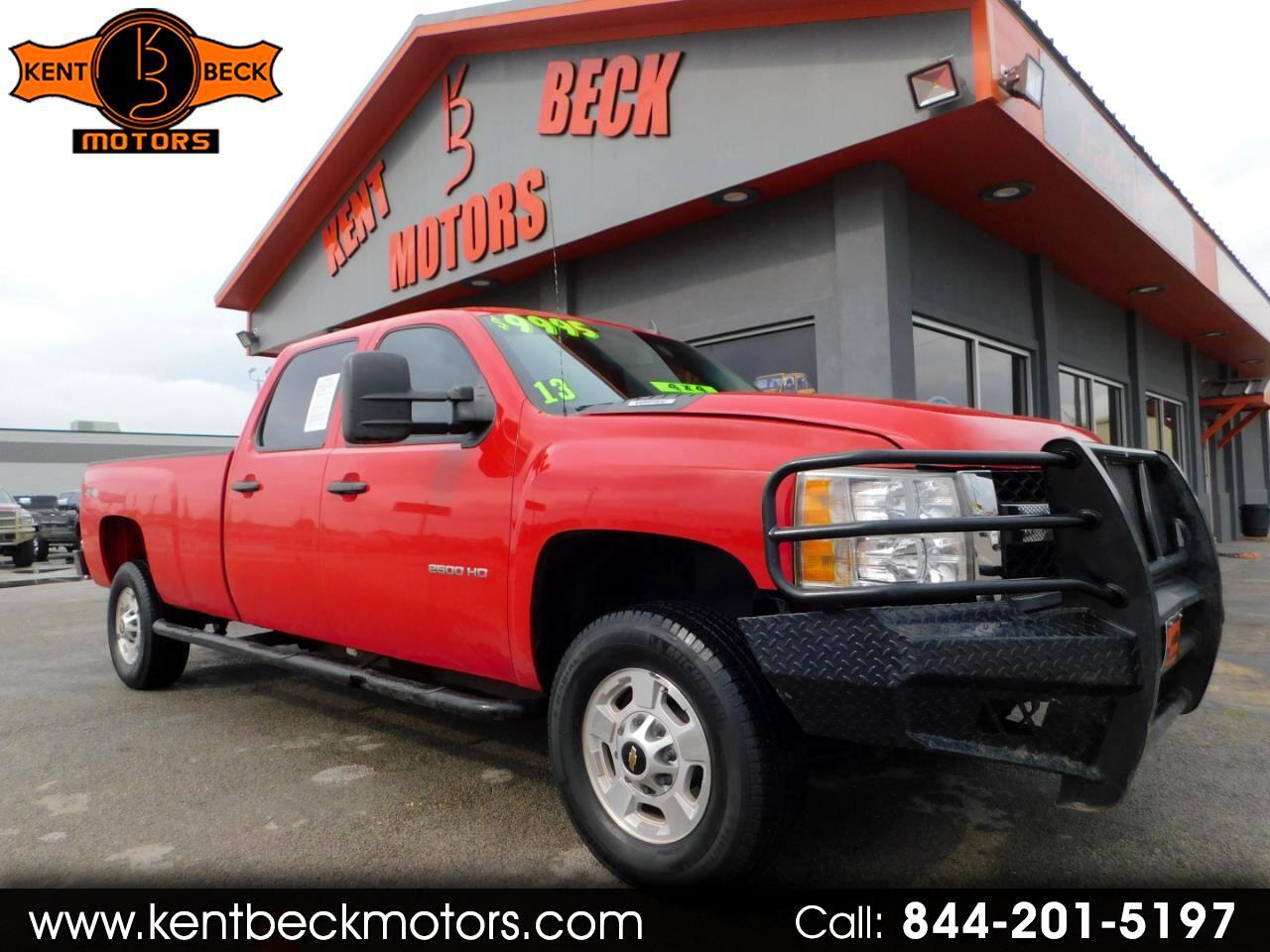 2013 Chevrolet Silverado 2500HD Work Truck Crew Cab Long Box 4WD