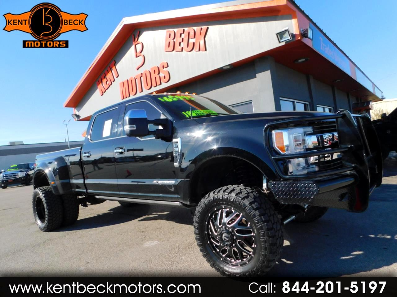 Ford F-350 SD King Ranch Crew Cab Long Bed DRW 4WD 2018