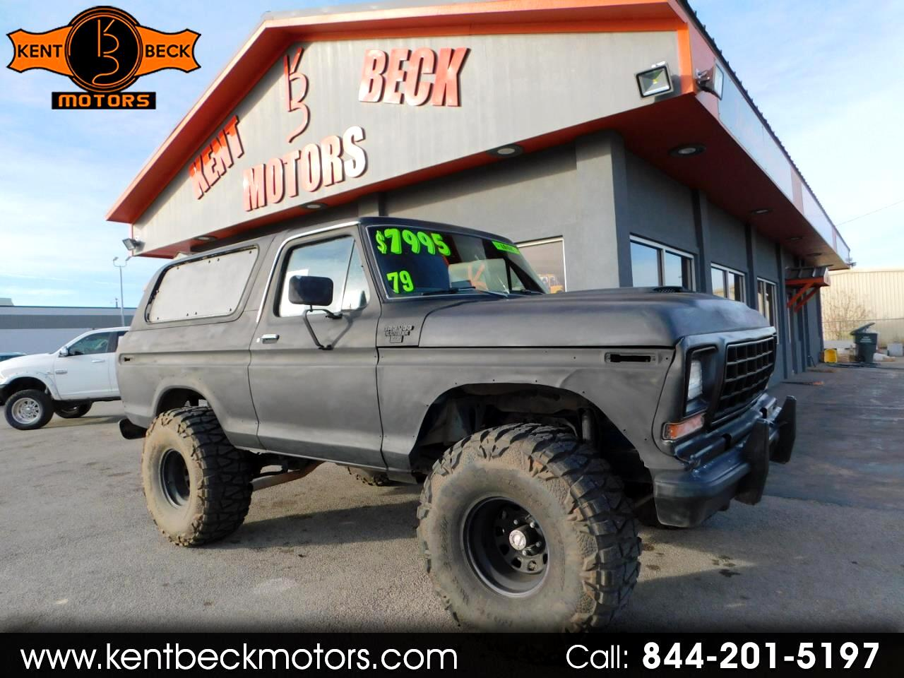 Ford Bronco 4WD 2dr Wagon Custom 1979