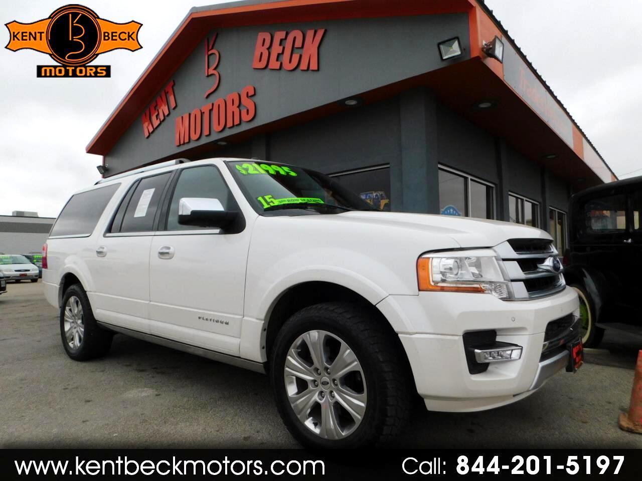 Ford Expedition EL Platinum 2WD 2015