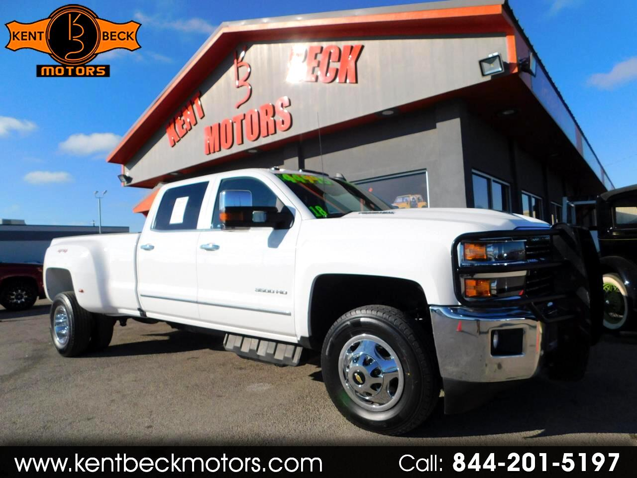 Chevrolet Silverado 3500HD LTZ Crew Cab Long Box 4WD 2018