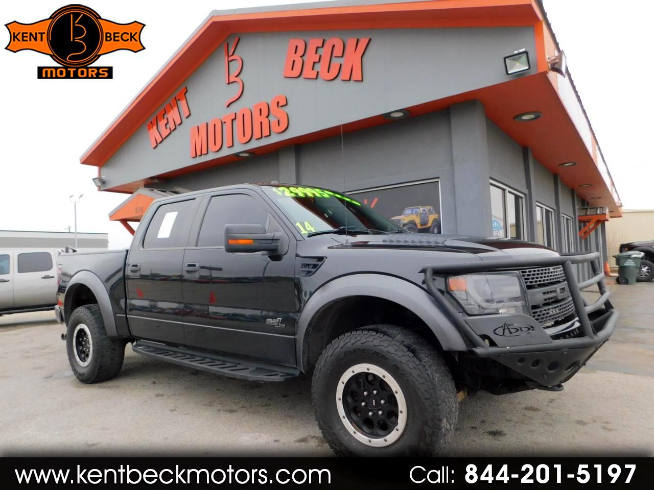 Ford F-150 SVT Raptor SuperCrew 5.5-ft. Bed 4WD 2014