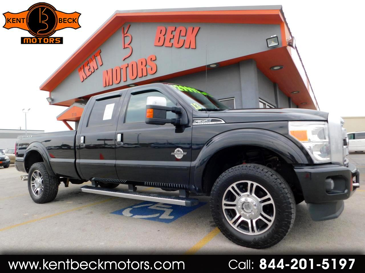 Ford F-350 SD Platinum Crew Cab Long Box 4WD 2013