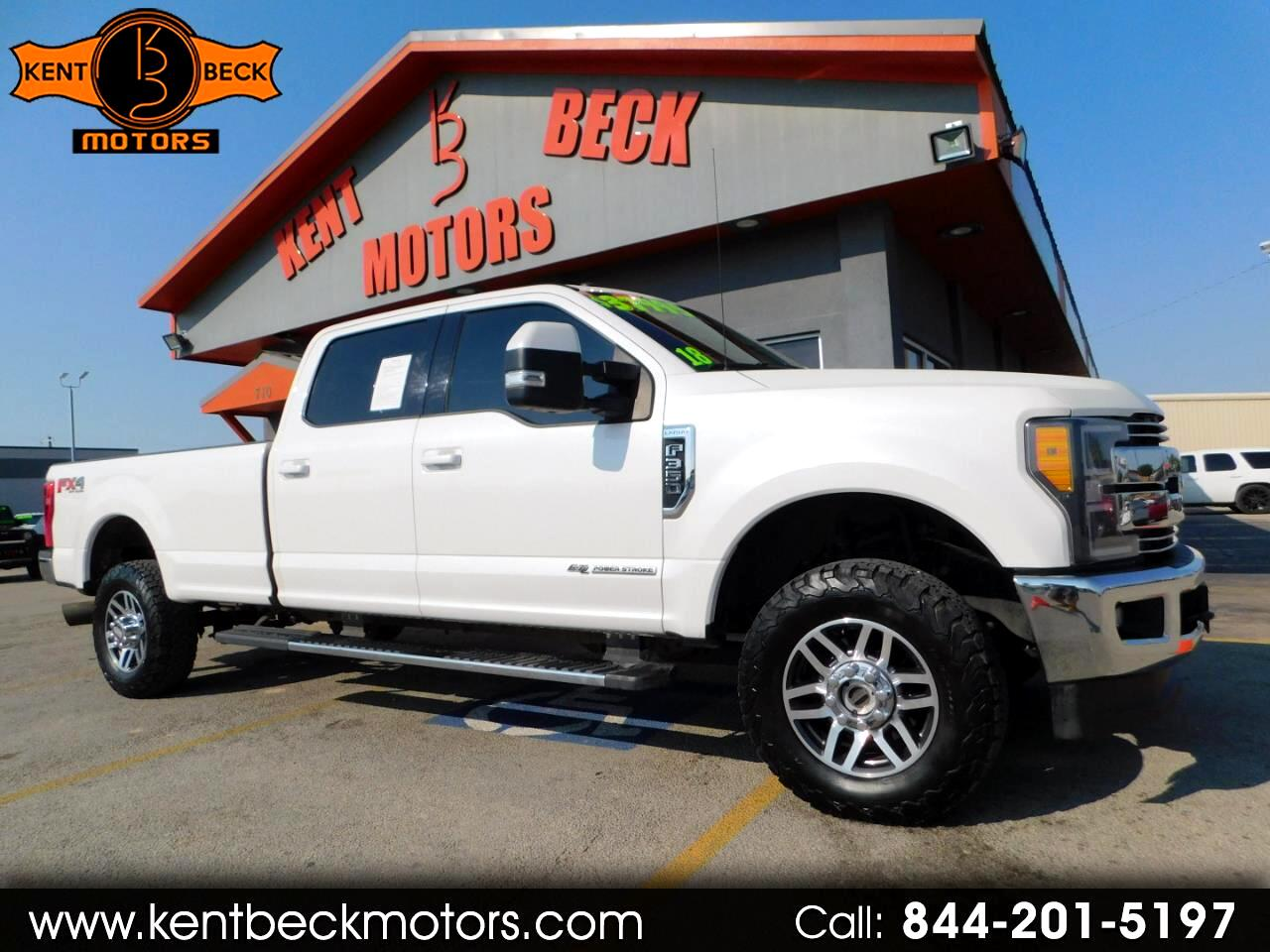 Ford F-350 SD Lariat Crew Cab Long Bed 4WD 2018