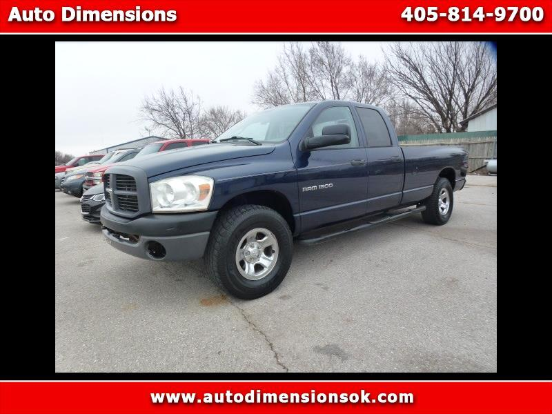 2007 Dodge Ram 1500 ST Quad Cab Long Bed 4WD