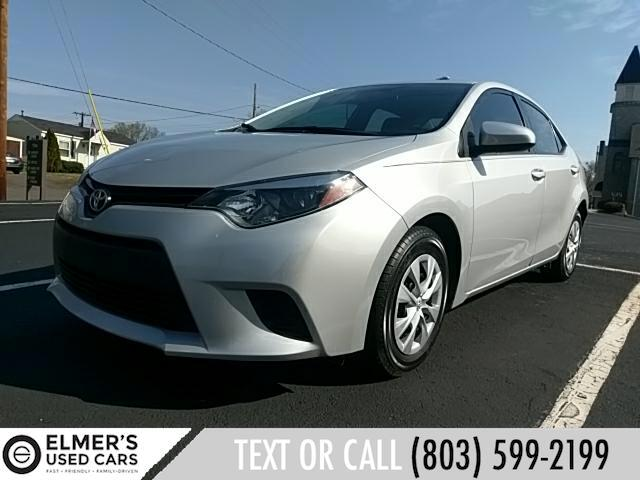 2015 Toyota Corolla L 6-Speed MT