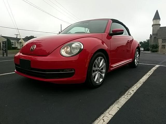 2014 Volkswagen Beetle TDI Convertible 6A