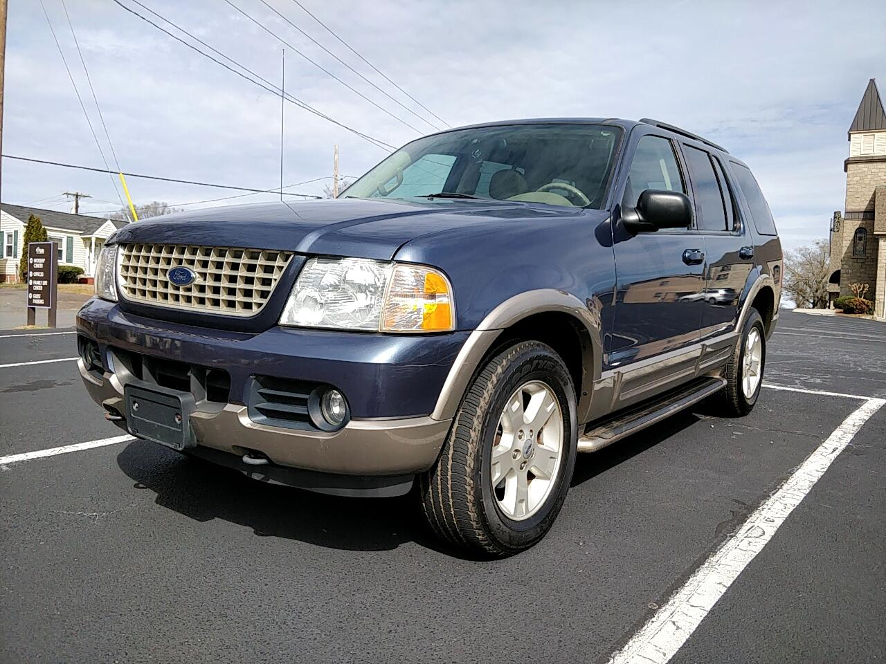 Used 2003 Ford Explorer Eddie Bauer 4 0l 4wd For Sale In