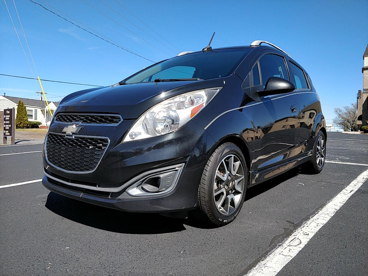 2013 Chevrolet Spark 2LT Manual