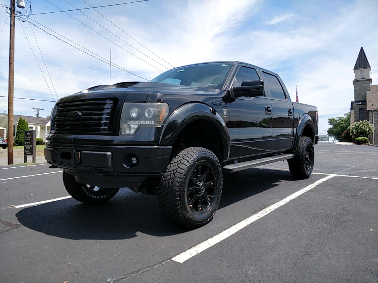 "2012 Ford F-150 SuperCrew 139"" FX4 4WD"