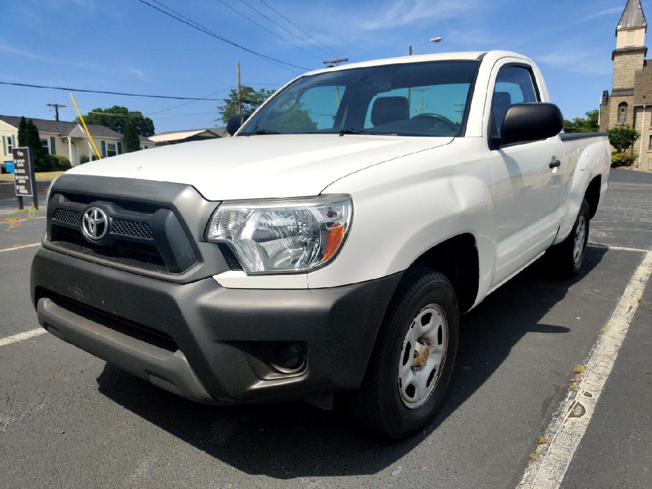 Toyota Tacoma Regular Cab I4 Automatic 2WD 2014