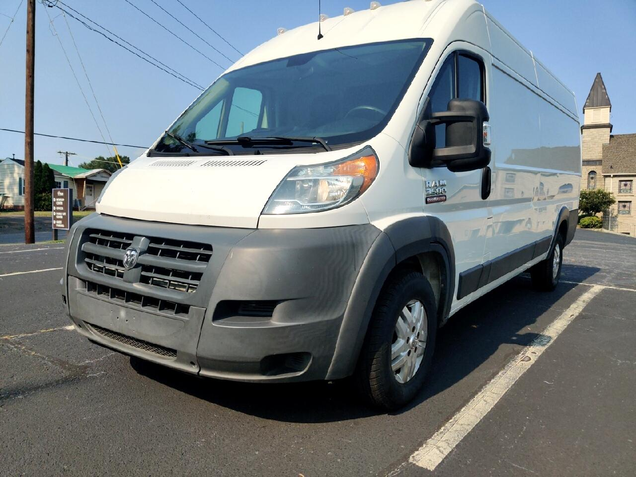 RAM Promaster 3500 High Roof Tradesman 159-in. WB Ext 2014