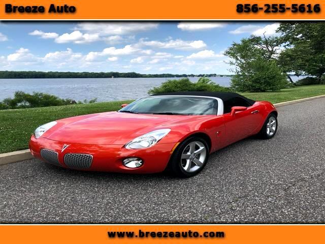 2008 Pontiac Solstice 2dr Convertible