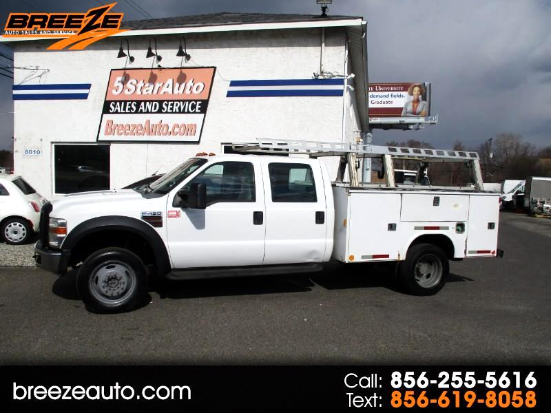 Ford F-450 SD Crew Cab 4WD DRW 2008