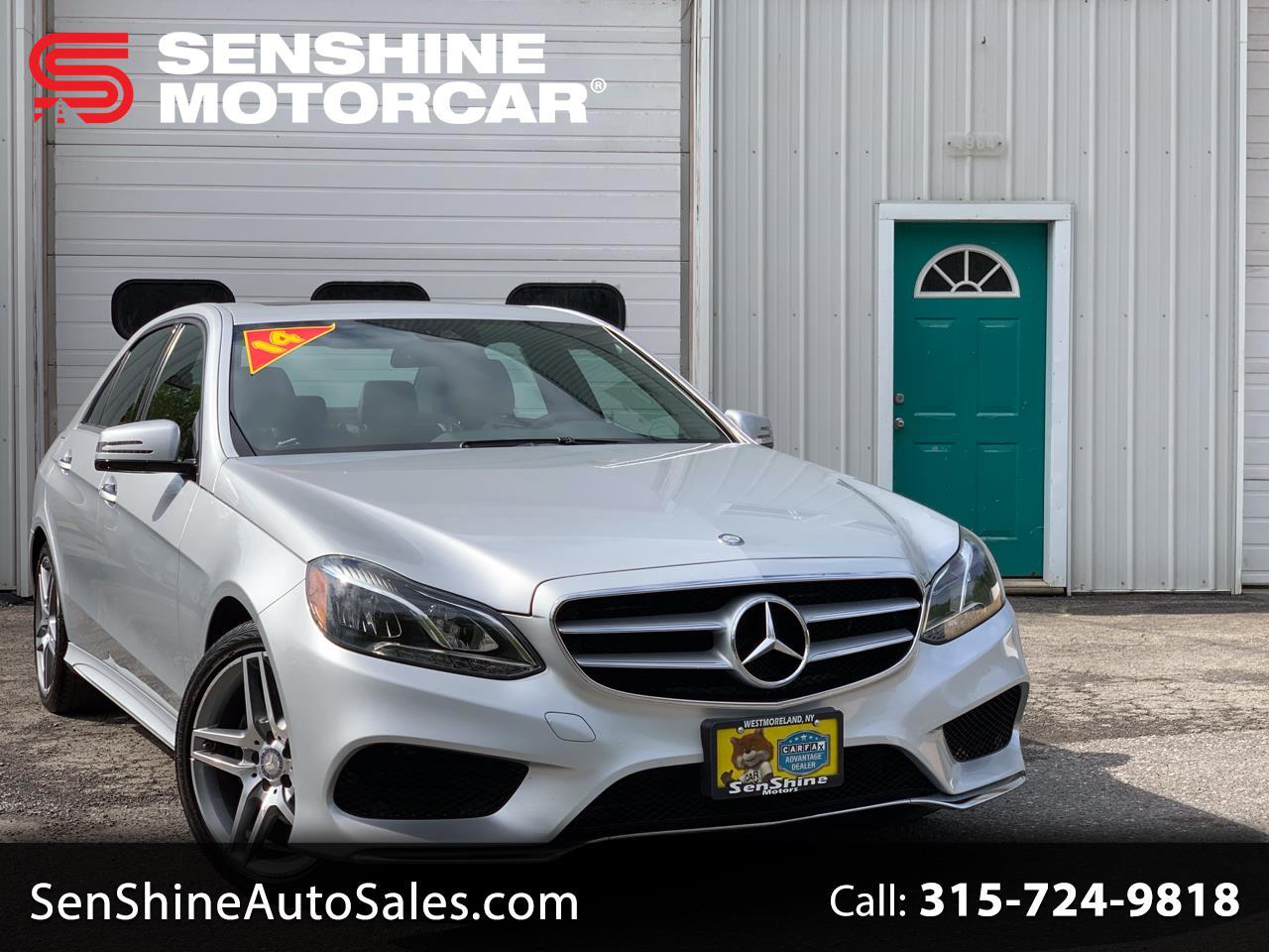 2014 Mercedes-Benz E-Class 4dr Sdn E 350 Luxury 4MATIC