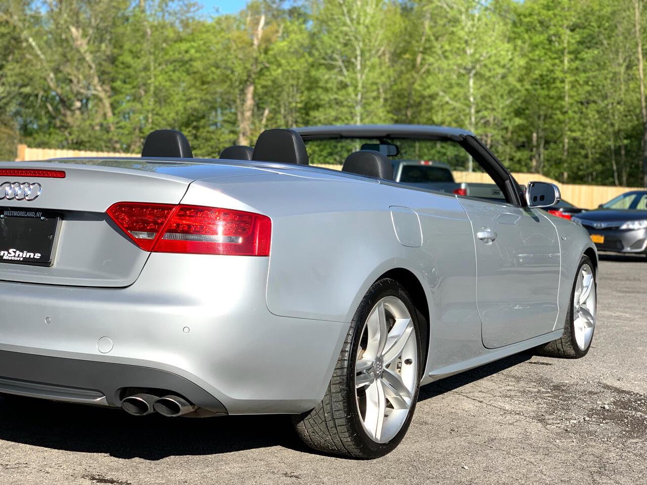 2011 Audi S5 3.0T Cabriolet quattro S tronic