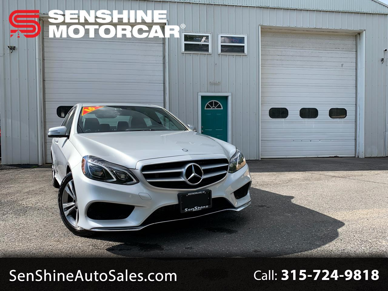 2016 Mercedes-Benz E-Class E250 Luxury BlueTEC 4MATIC Sedan