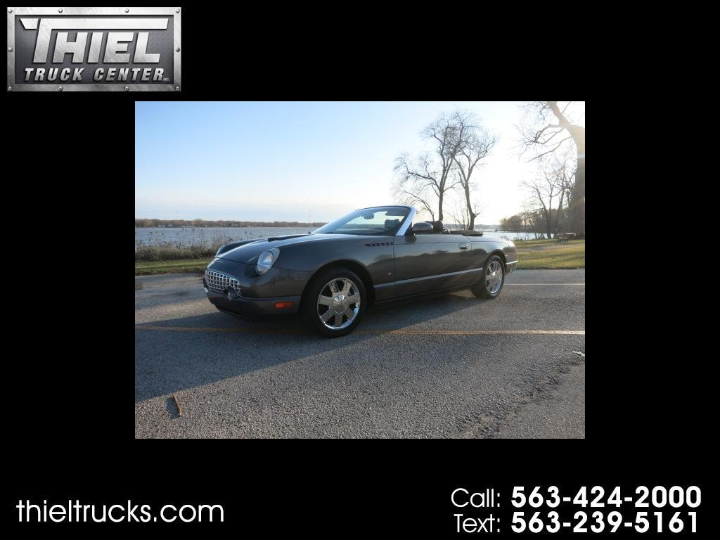 2003 Ford Thunderbird Premium with removable top