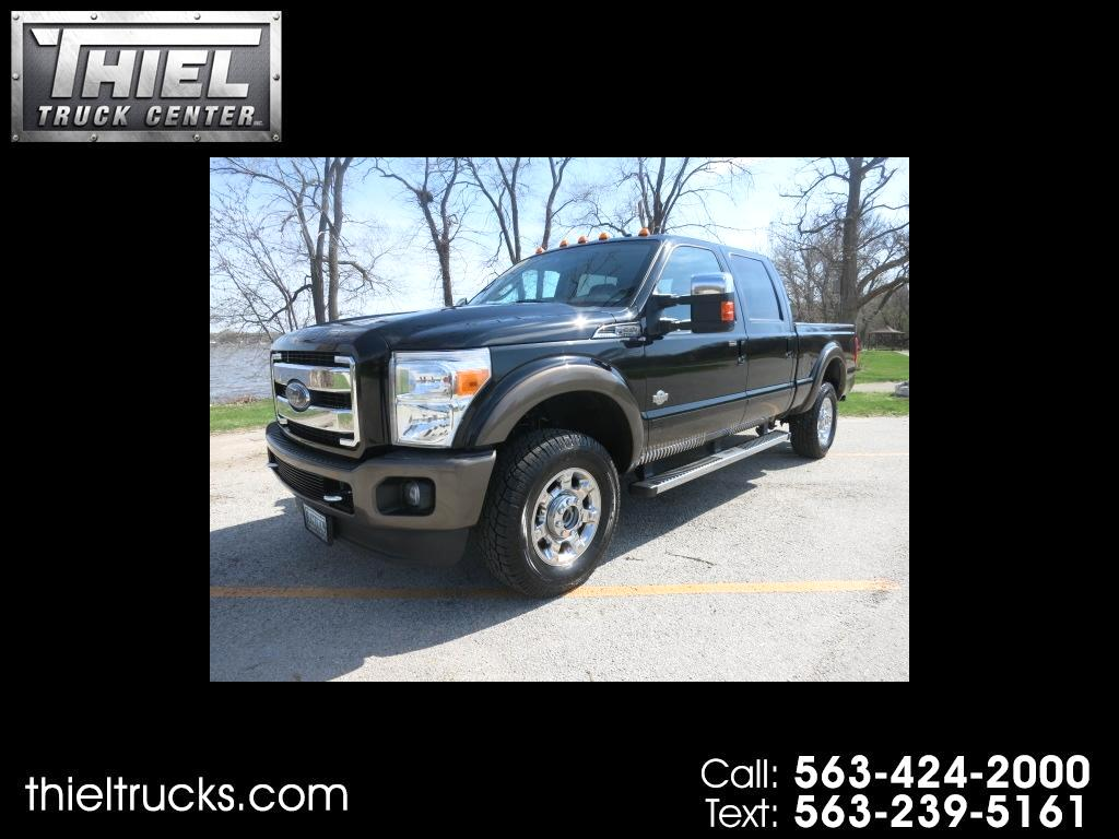 2016 Ford F-350 SD King Ranch Crew Cab 4WD