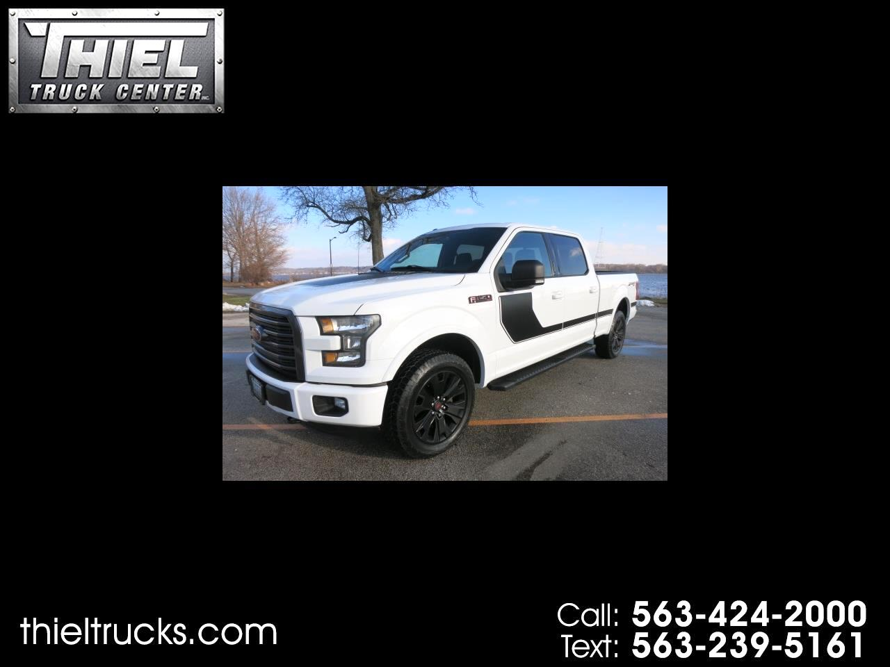 2016 Ford F-150 SPORT SuperCrew 6.5ft Bed 4WD