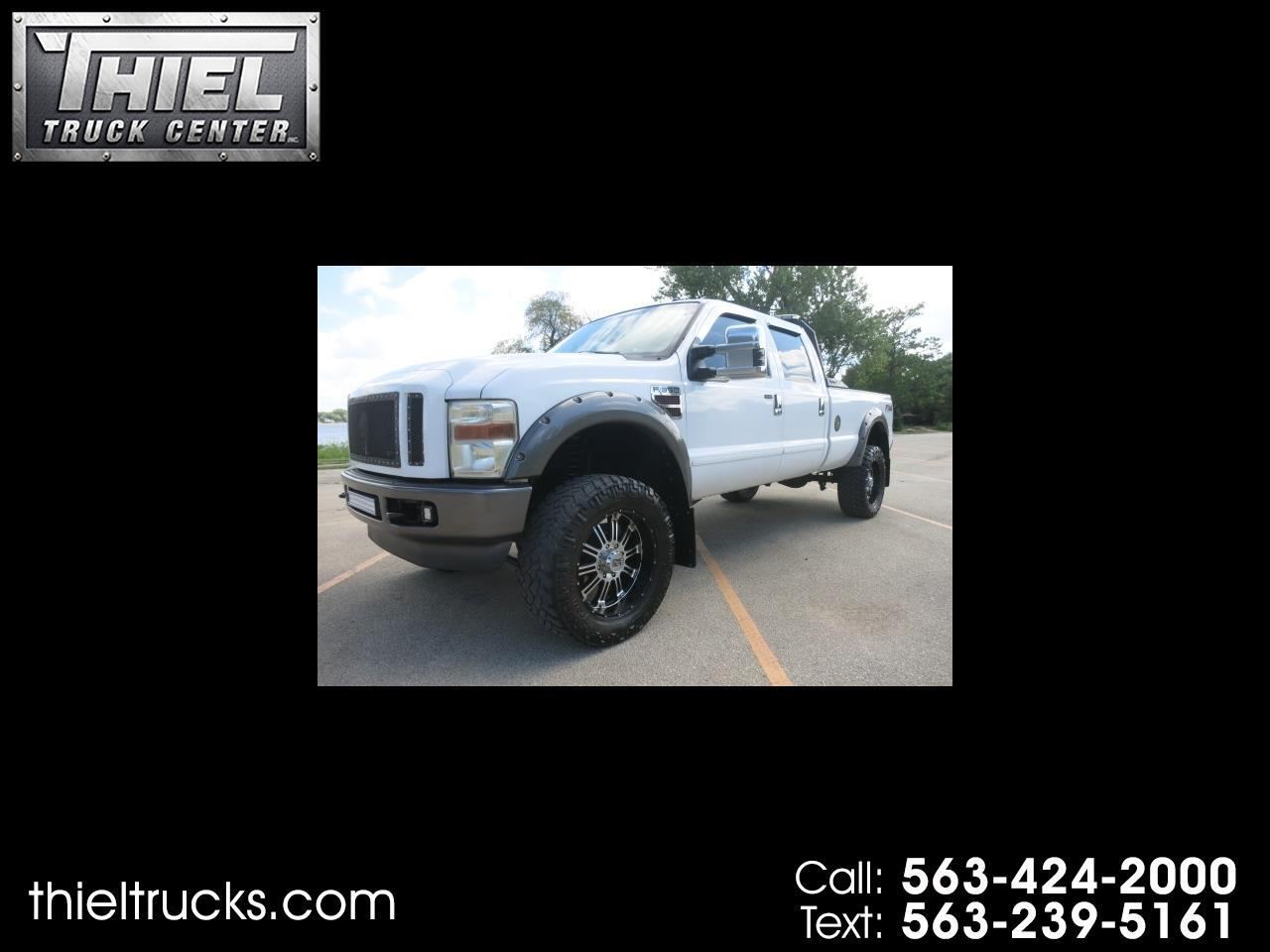 2008 Ford F-350 SD FX4 Crew Cab Long Bed