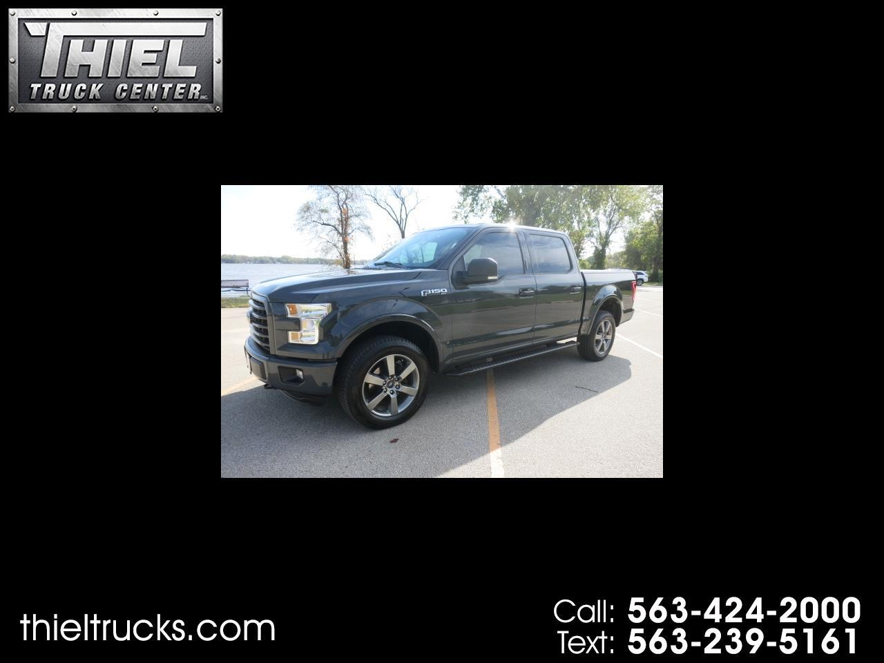Ford F-150 XLT SuperCrew Short Bed 4WD 2016