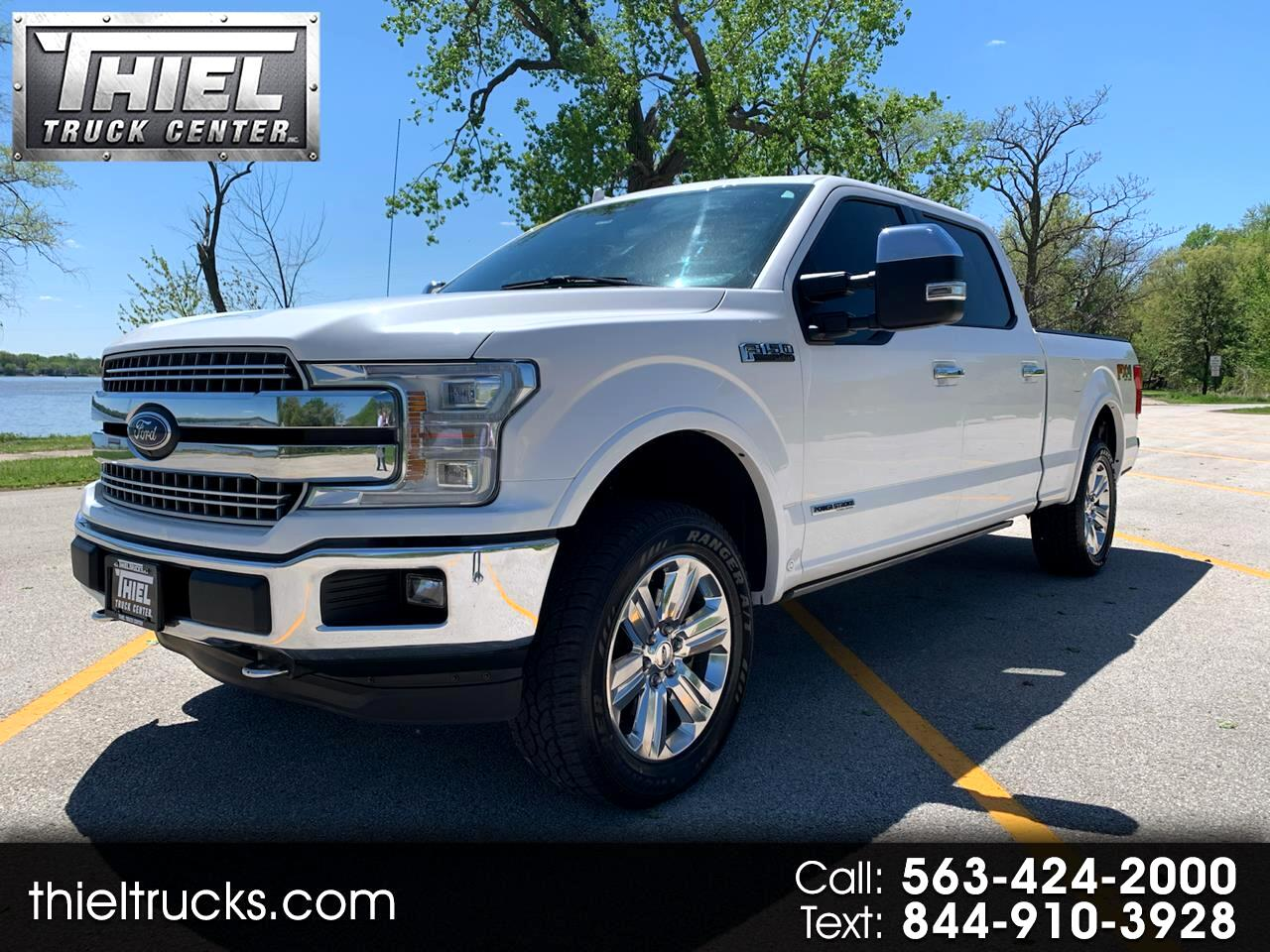 Ford F-150 Lariat SuperCrew 6.5-ft. Bed 4WD 2018