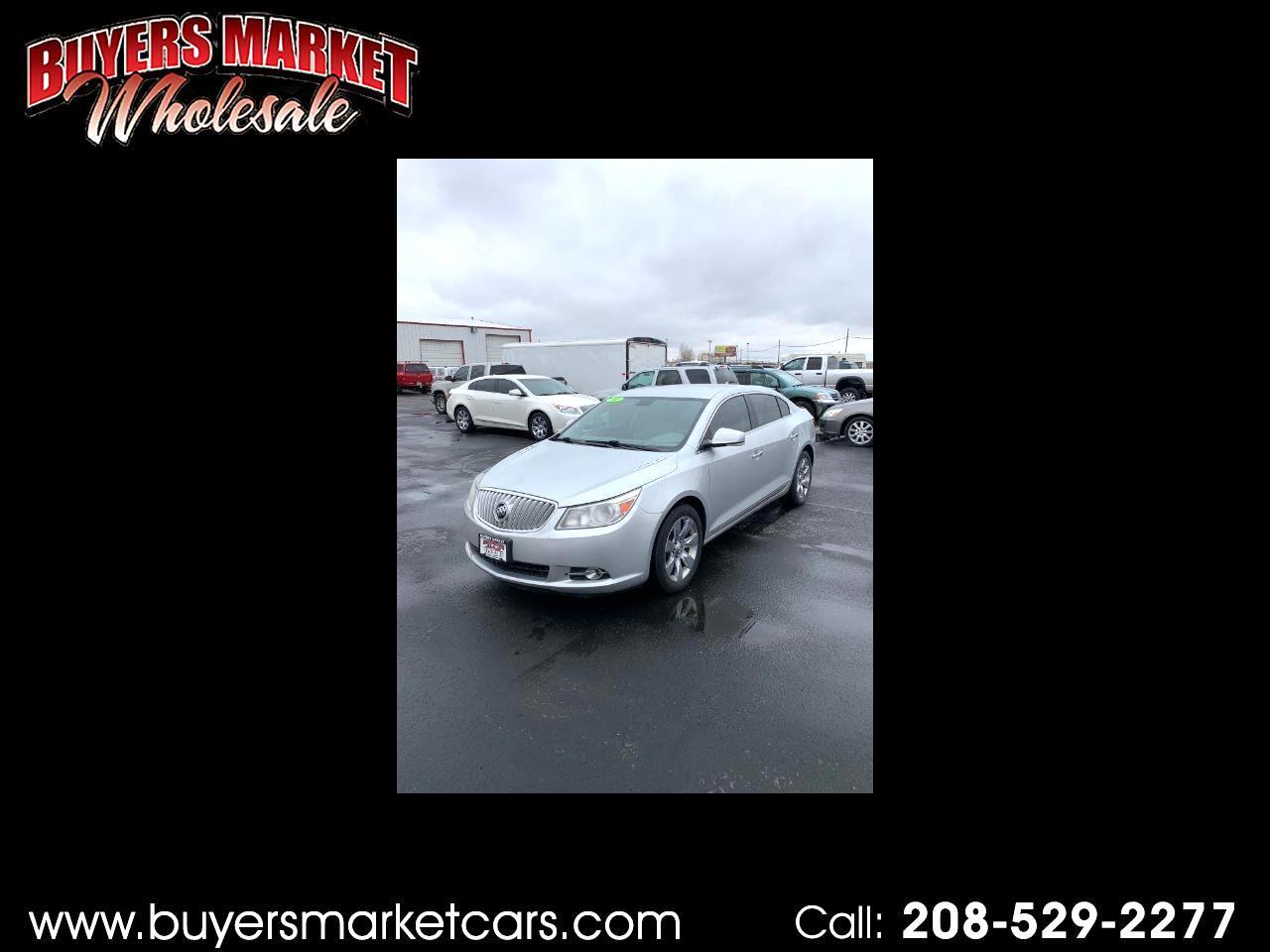 Buick LaCrosse CXL AWD 2011