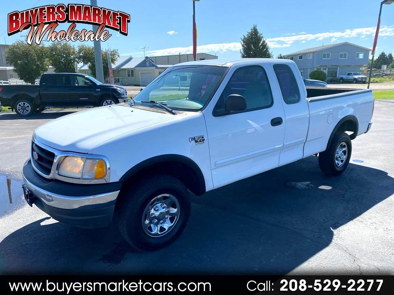Ford F-150 XL SuperCab Short Bed 4WD 2000