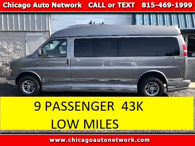 2008 Chevrolet Express 2500 extended 9 passenger conversion van high roof