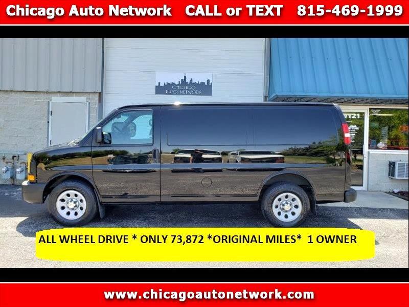 2013 Chevrolet Express 1500 AWD Cargo