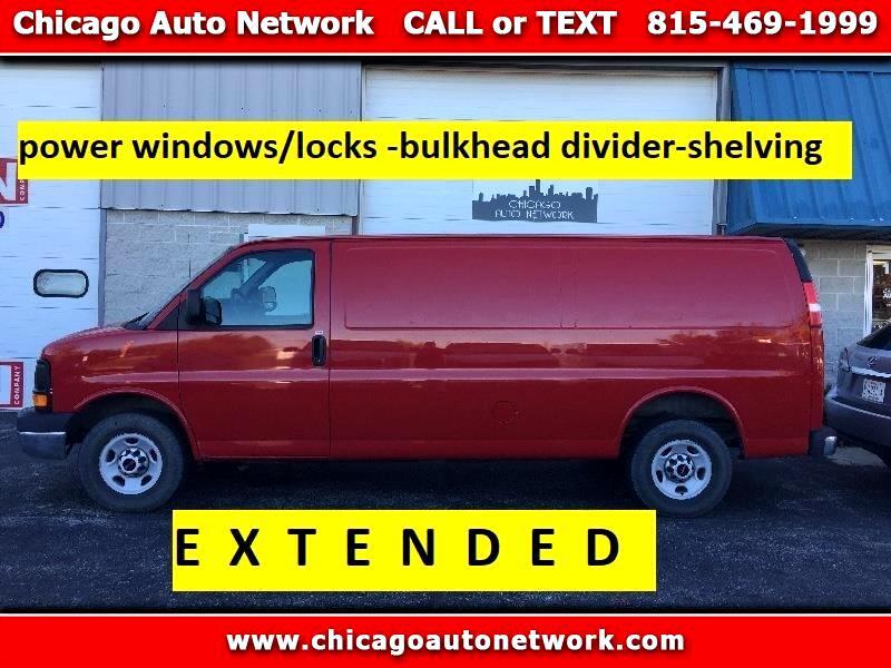 "2015 Chevrolet Express Cargo Van 2500 155"" WB RWD"