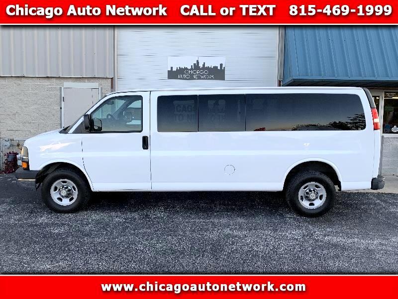 2012 Chevrolet Express 15 passenger van extended g3500
