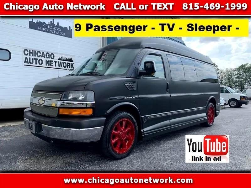 Chevrolet 9 Passenger Conversion Van  2010
