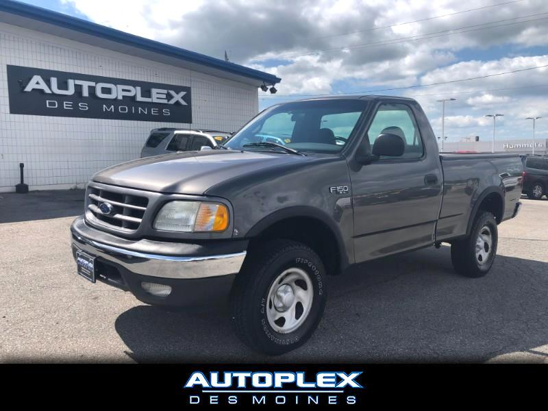 2002 Ford F-150 XL Short Bed 4WD