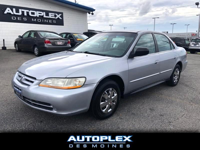 2002 Honda Accord Value Package Sedan