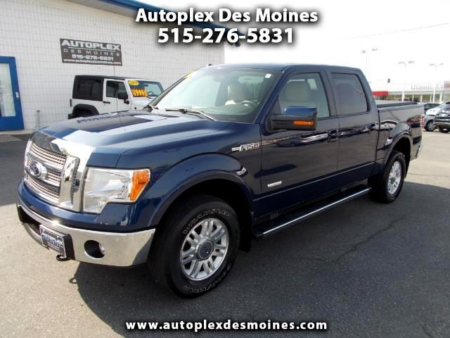 2012 Ford F-150 Lariat SuperCrew 5.5-ft. Bed 4WD