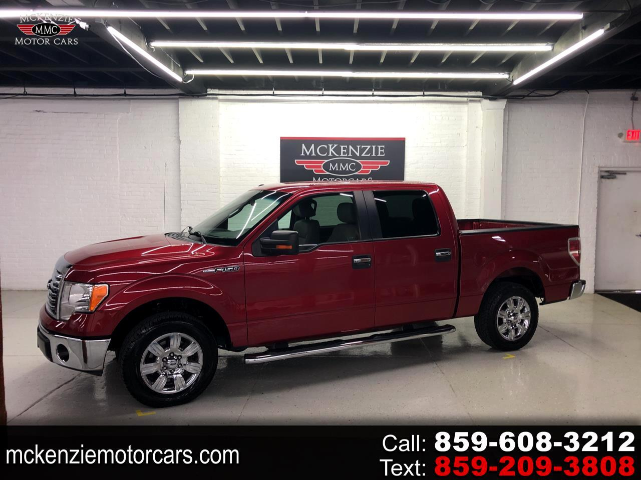 "Ford F-150 SuperCrew 139"" XLT 2010"