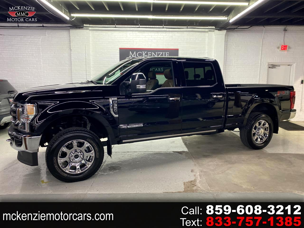 Ford F-250 SD King Ranch Crew Cab 4WD 2021