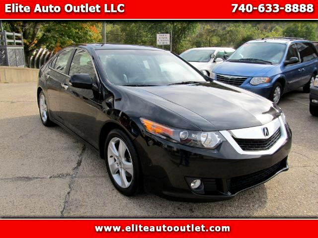 2009 Acura TSX 6-Speed MT with Tech Package
