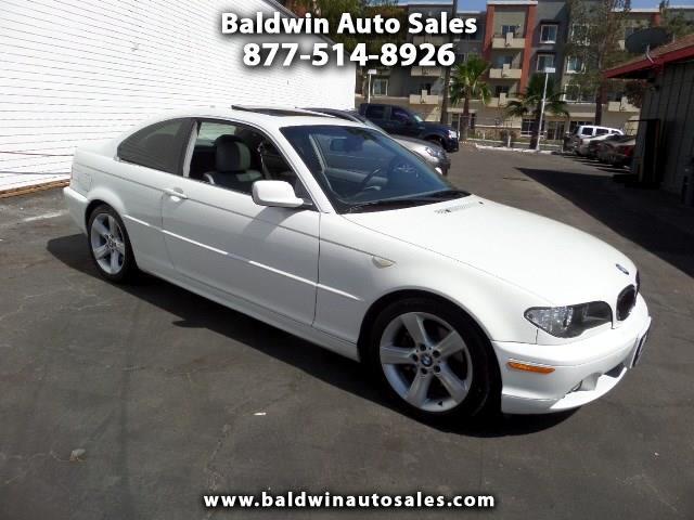 2005 BMW 3-Series 325Ci 2dr Cpe
