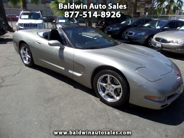 2001 Chevrolet Corvette 2dr Convertible
