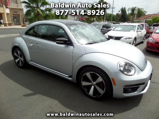 2013 Volkswagen Beetle 2dr DSG 2.0T Turbo w/Sun/Sound PZEV